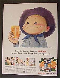 1950  Birds  Eye  Orange  Juice (Image1)