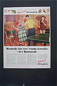 1952 B.F. Goodrich Koroseal with Kids In Game Room (Image1)