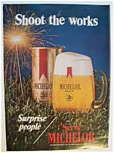 1971 Michelob Beer