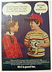 Vintage Ad: 1971 Hi C Apple Drink (Image1)