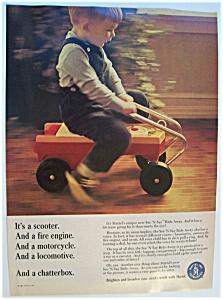 1967 Mattel See N' Say Ride Away w/Boy Riding Toy (Image1)