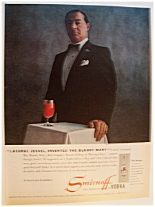 1979  Smirnoff  Vodka  with George Jessel (Image1)