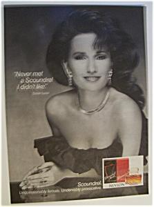 Vintage Ad: 1987 Scoundrel with Susan Lucci (Image1)