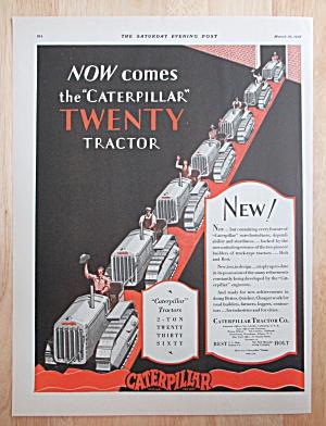 1928 Caterpillar Tractor w Caterpillar Twenty Tractor (Image1)