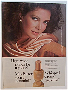 Vintage Ad: 1983 Max Factor with Jaclyn Smith (Image1)