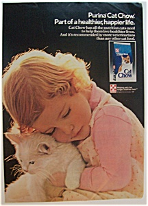 1984 Cat Chow Cat Food
