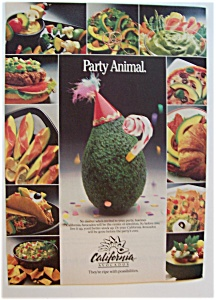 1986 California Avocados