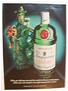 1982  Tanqueray  Gin (Image1)