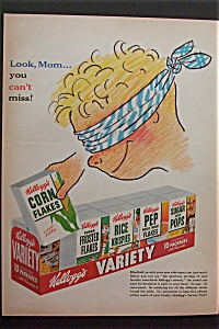 1953 Kellogg's Variety Pack with the 10 Pack of Cereal  (Image1)