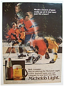 1982 Michelob Light Beer