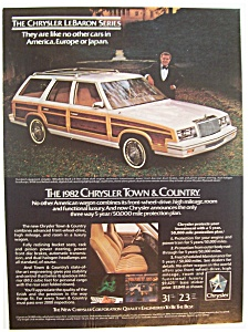 1982  Chrysler Town & Country Wagon (Image1)