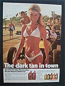 Vintage Ad: 1984 Sea & Ski Lite Baby Oil & Lotion (Image1)