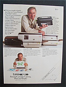 1984 Canon Personal Copiers With Jack Klugman