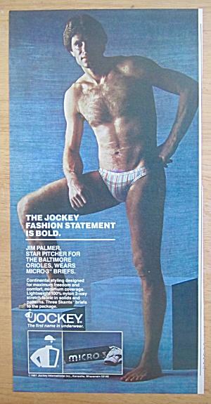 1981 Jockey Underwear with Jim Palmer (Image1)