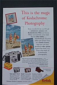 1954 Kodak Film with Children Running On A Beach (Image1)