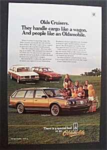 1985 Oldsmobile Cruisers
