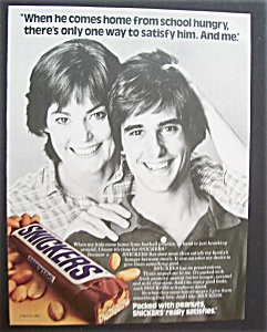 1984 Snickers Candy Bar