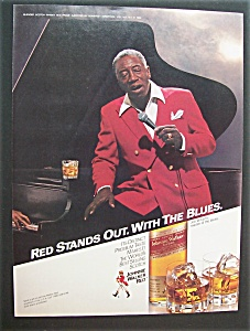 Vintage Ad: 1984 Johnnie Walker Red With Joe Williams