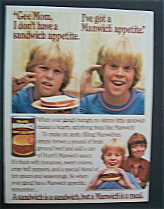 1983 Hunt's Manwich Sloppy Joe Sauce