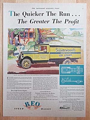 1929 REO Speed Wagon with Silverwood's Ice Cream Truck (Image1)