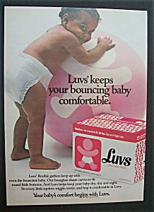 1982 Luvs Disposable Diapers