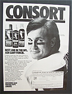 1986  Consort  Hair Spray  with  Gary  Fencik (Image1)