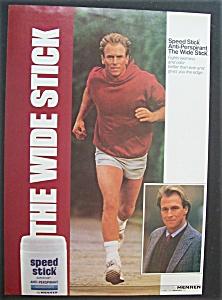 1987  Mennen  Speed  Stick  with  Corbin  Bernsen? (Image1)