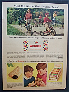 1966 Wonder Bread & Hostess Fruit Pies