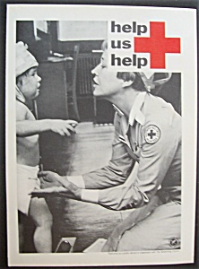 1967 American Red Cross Volunteer