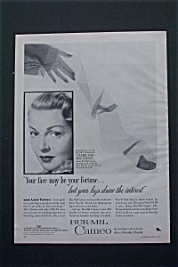 1954 Bur-Mil Cameo with Lana Turner (Flame & The Flesh) (Image1)