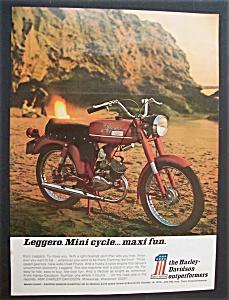 1971 Harley Davidson Motorcycle with 65cc Leggero (Image1)
