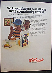 1977 Kellogg's Sugar Frosted Flakes