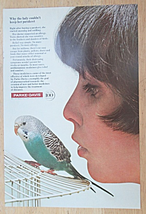 1966 Parke Davis With A Woman & Her Bird
