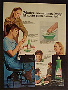 1968 Palmolive Dishwashing Liquid