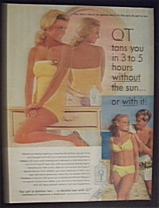 Vintage Ad: 1968 Quick Tanning Lotion (Image1)