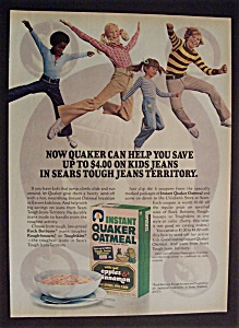 1977 Instant Quaker Apples N' Cinnamon Oatmeal
