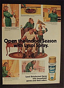1977 Lysol Disinfectant Spray