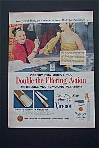 1954 Viceroy Cigarettes with Designer Irene Sharaff (Image1)