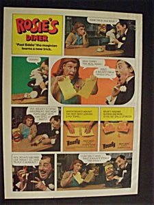 1977  Bounty Paper Towels  with  Rosie's  Diner (Image1)