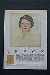 1954 Breck Shampoo with Beautiful Breck Girl  (Image1)