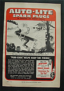 1944  Auto - Lite  Spark  Plugs (Image1)