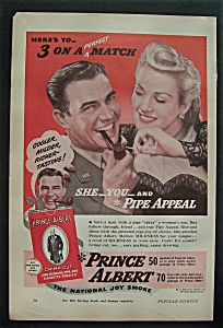 1944 Prince Albert Pipe & Cigarette Tobacco