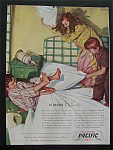 1945 Pacific Balanced Sheets