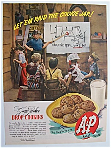 1945 Jane Parker Drop Cookies
