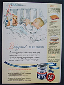 1945 White House Evaporated Milk