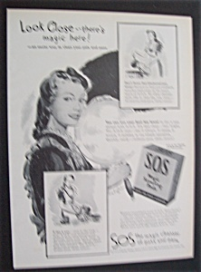 1945 S. O. S. Magic Scouring Pads