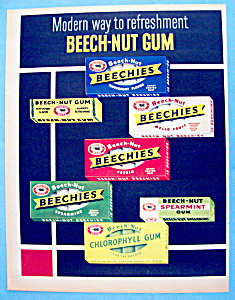 1954 Beech-Nut Gum with Variety of Gum (Image1)