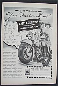 1949  Harley - Davidson  Motorcycles (Image1)