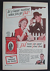 1949 Prince Albert Pipe & Cigarette Tobacco