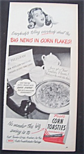 1947 Post's Corn Toasties